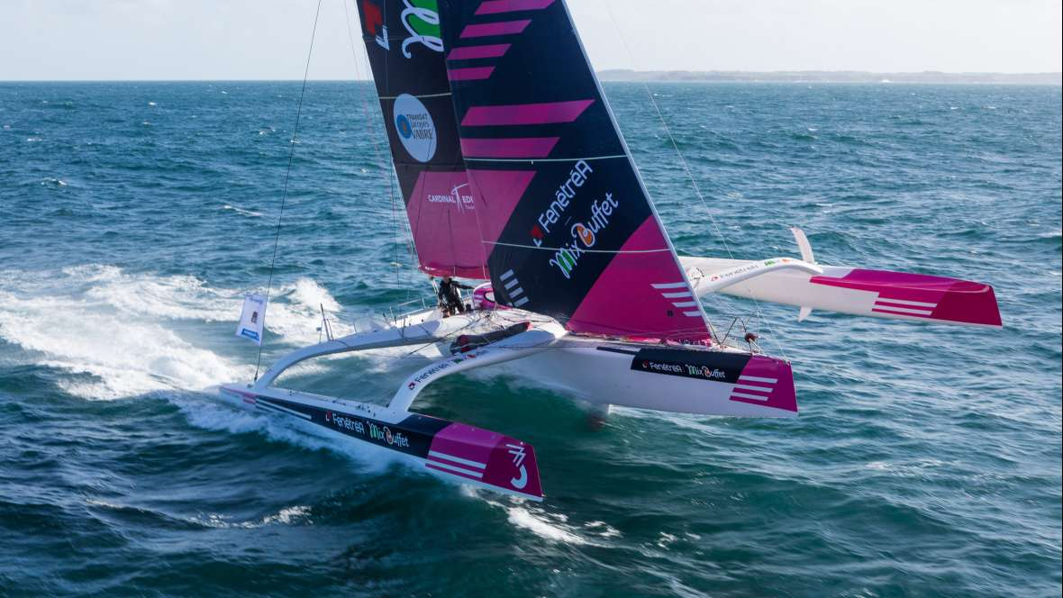 News fen tr a mix buffet finishes second in transat for Fenetrea mix buffet