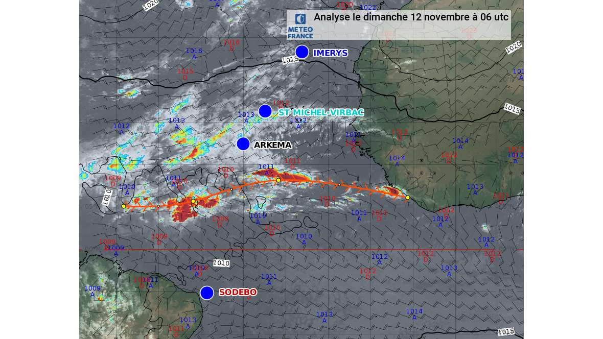 News Weather Forecast General Situation On Sunday November 12