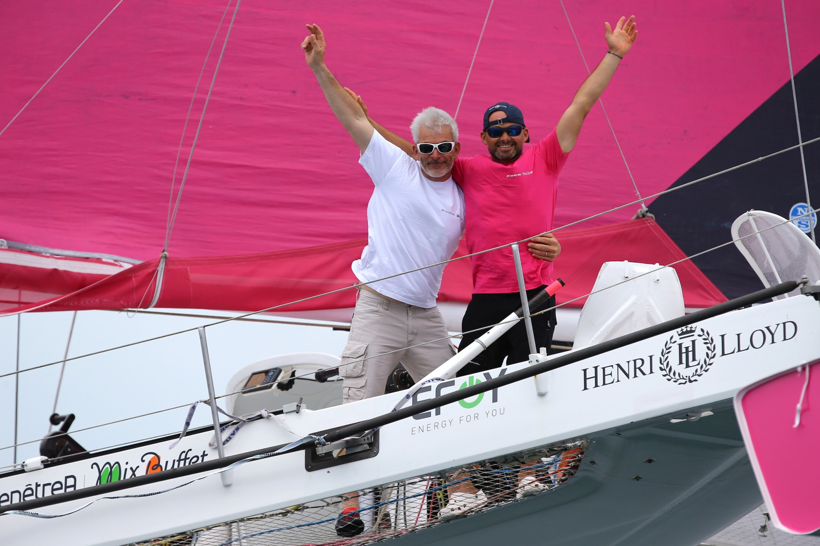News record breaking arkema wins transat jacque vabre for Fenetrea mix buffet