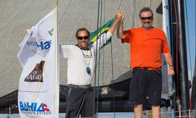 Gras Savoye Berger Simon Obportus finishes tenth in Transat Jacques Vabre Class40