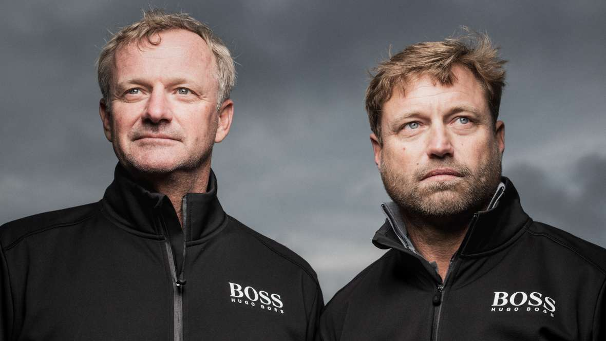 Skipper's log: Alex Thomson and Neal McDonald (Britain), Hugo Boss (IMOCA)