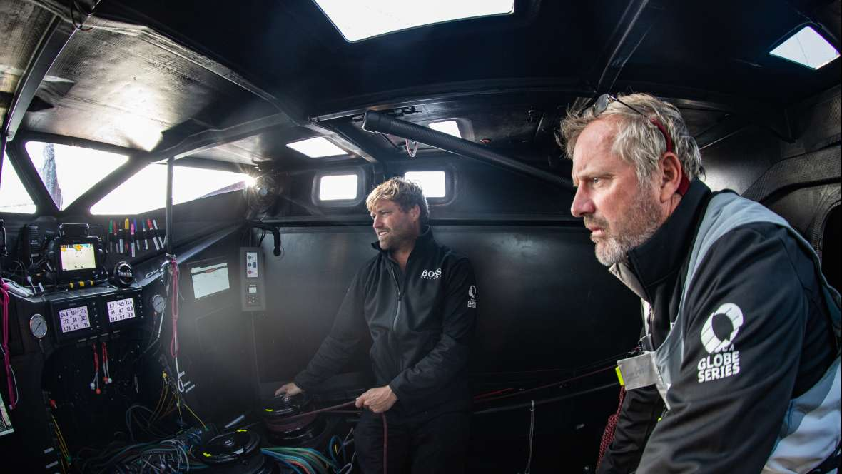 Skipper's log: Alex Thomson (Britain), skipper Hugo Boss  (IMOCA)