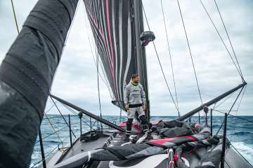 UNSPECIFIED, 2019: Image bank of the New Imoca Hugo Boss, skippers Alex Thomson and Neal McDonald. (Photo by Hugo Boss)