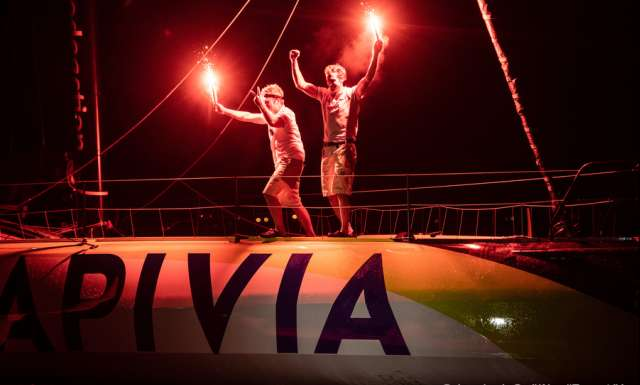 IMOCA: Local boy makes good after Doldrums strike