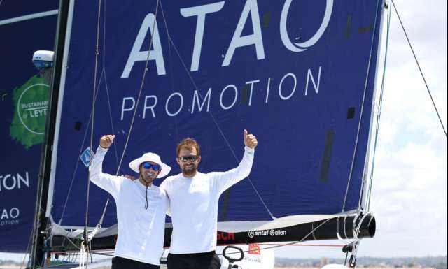 Leyton finishes second in the Transat Jacques Vabre Normandie Le Havre Class40
