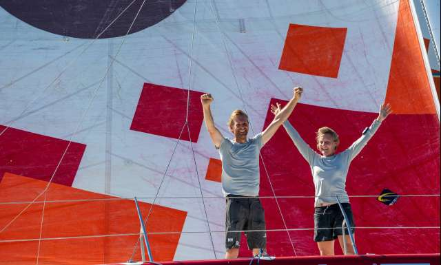 Pip Hare Ocean Racing finishes twenty-fourth in the Transat Jacques Vabre Normandie Le Havre IMOCA
