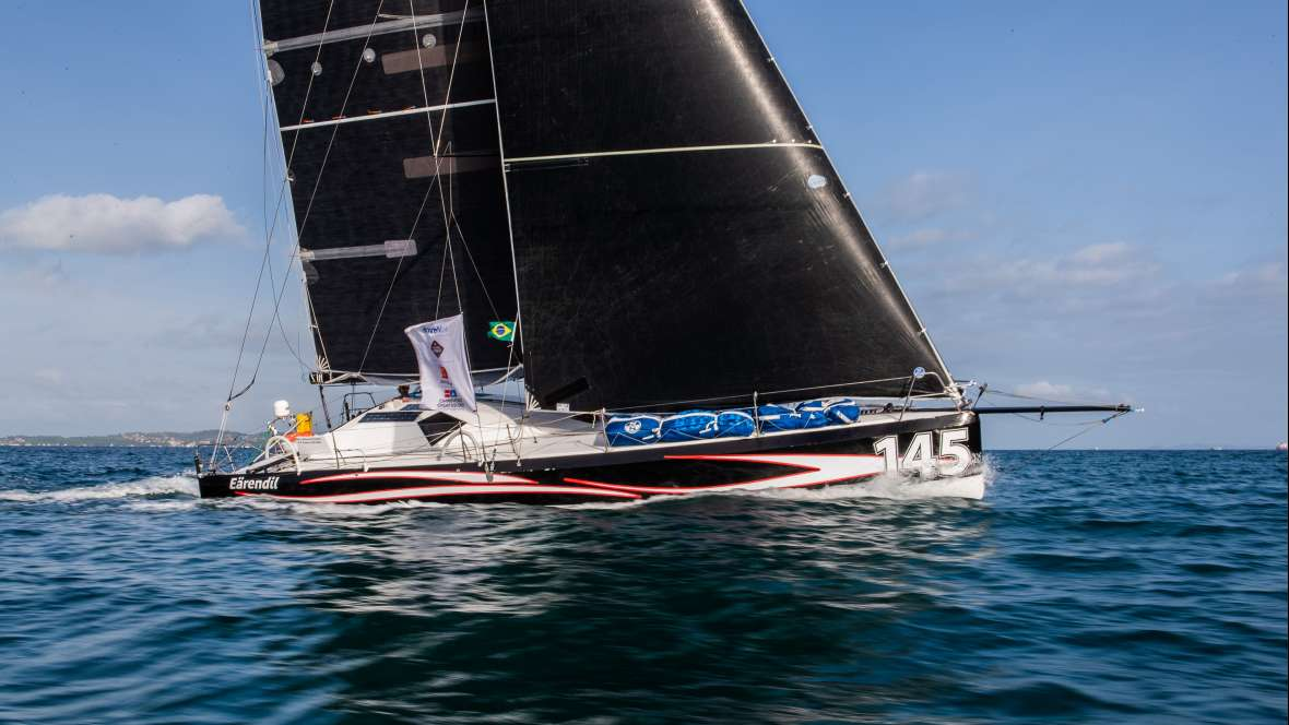 Eärendil finishes tenth in the Transat Jacques Vabre Normandie Le Havre Class40