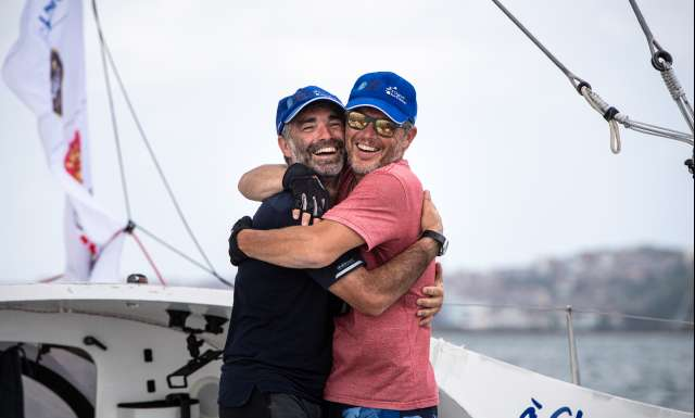 A chacun son Everest finishes thirteenth in the Transat Jacques Vabre Normandie Le Havre Class40
