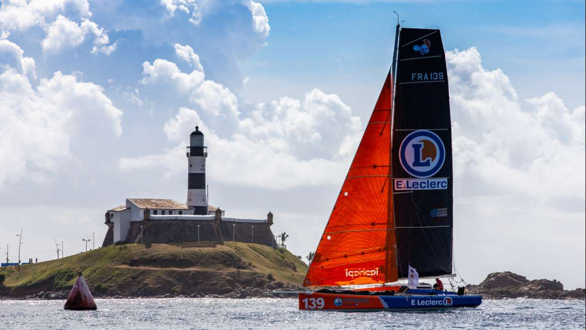 E.Leclerc finishes seventeeth in the Transat Jacques Vabre Normandie Le Havre Class40