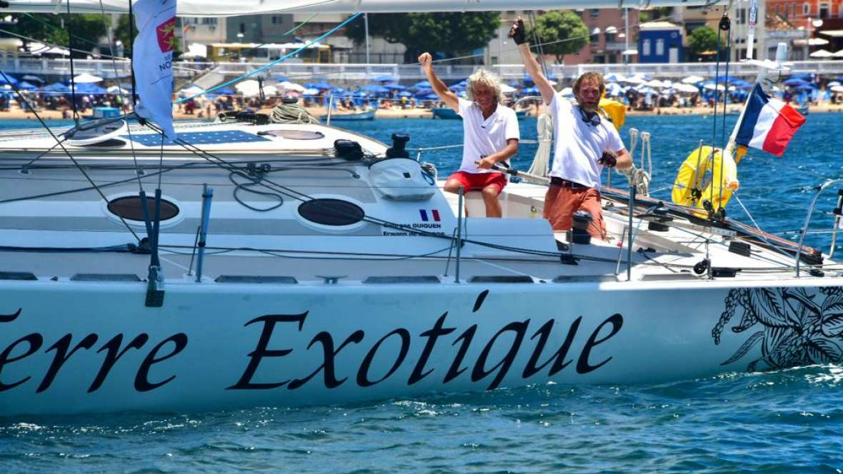 Terre Exotique finishes twenty second in the Transat Jacques Vabre Normandie Le Havre Class40